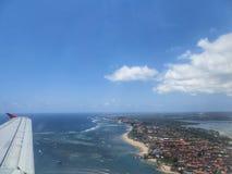 Lot nad Jawa wyspą Fotografia Stock