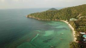 Lot nad plażową haad sałatką zbiory