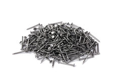 A lot of nails Stock Photos