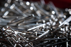 A lot of nails Royalty Free Stock Images