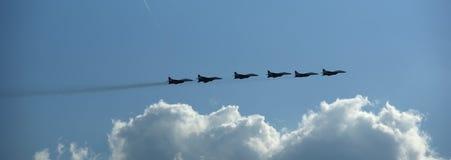 Lot nowożytni bojowi wojownicy Fotografia Royalty Free