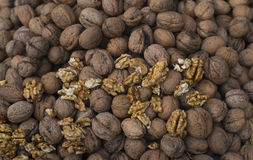 A lot of nuts Stock Photo