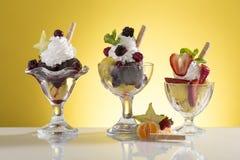 Free Lot Of Fruit Sundae For Menu Card Stock Photography - 50751362