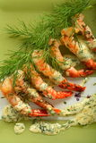 Lot Of Shrimps Royalty Free Stock Photography