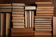 A lot of old books Royalty Free Stock Photography