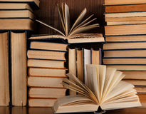A lot of old books Royalty Free Stock Images
