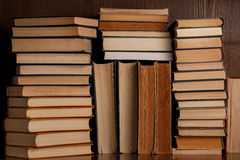 A lot of old books Stock Photography