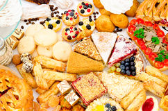 A lot of pastry Stock Photos