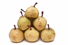 A lot of pears. Royalty Free Stock Photo