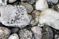 Lot of pebbles Royalty Free Stock Photography