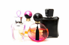 Lot of perfume Royalty Free Stock Images