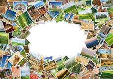 A lot of photos Royalty Free Stock Images