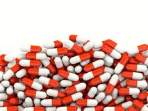 Lot of pills Stock Photo
