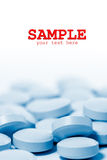 A lot of pills Stock Photography