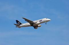 LOT Polish Airlines Embraer ERJ-170 Royalty Free Stock Photo