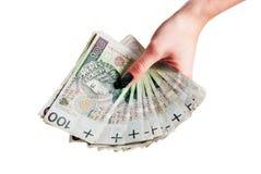A lot of polish money Royalty Free Stock Photos