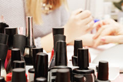 A lot of polishes Stock Photo