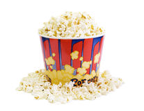 Lot of popcorn Stock Photography