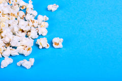 Lot of popcorn scattered Royalty Free Stock Photography