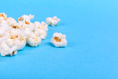 Lot of popcorn scattered Stock Photos