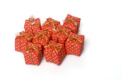 Lot of presents Royalty Free Stock Image
