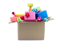 A  lot of presents Royalty Free Stock Images