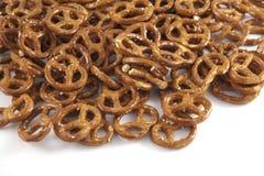A lot of pretzels Stock Image
