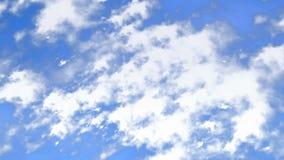 Lot przez chmur ilustracja wektor