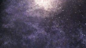Lot przez galaxy royalty ilustracja
