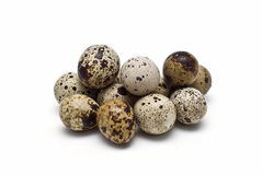 A lot of quail fresh eggs. Royalty Free Stock Photo