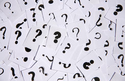 Question mark background stock photos