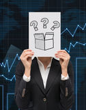 Lot of questions Stock Image