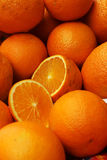 A lot of red oranges Royalty Free Stock Photo