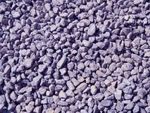 The gravel texture; summer photography. Stock Photography