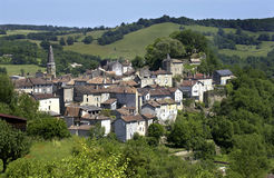 Lot - Rural Village - France Royalty Free Stock Images