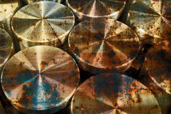 Lot of rusty industrial pieces 4 Royalty Free Stock Image
