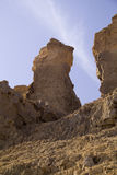 The Lot's Wife pillar on Mount Sodom, Israel. Stock Photography