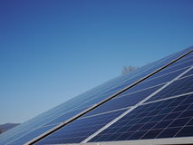 Lot of solar panels electricity. A lot of solar panels for electricity Stock Photography