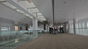 Lot Szanghaj, lotnisko zbiory