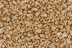 A lot of textured soy protein granules Royalty Free Stock Photography