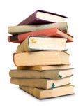 A lot to read, large pile of old books. Stock Images