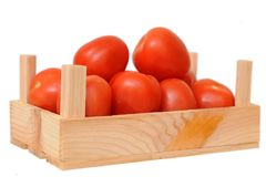 A lot of tomatoes Royalty Free Stock Photo