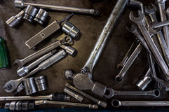A lot of tools Royalty Free Stock Photography