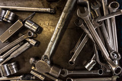 A lot of tools Royalty Free Stock Image