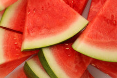 A lot triangle slices of watermelon Royalty Free Stock Photos