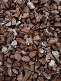 A lot of types of stones royalty free stock photo