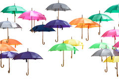 Lot of umbrella Royalty Free Stock Photography