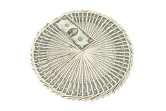Lot of US dollars cash Stock Image