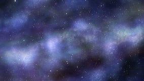 Lot w wszechświat ilustracja wektor