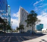 A lot of windows in Wien. Modern minimal building in new district of Wien Stock Photography